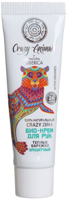 купить Natura Siberica Crazy Animals крем-био для рук